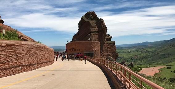 Red Rocks Amphitheatre Entrance