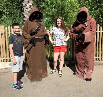 Sand People at Sacramento Zoo Star Wars Day