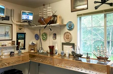 Sea Glass Museum Exhibit Room