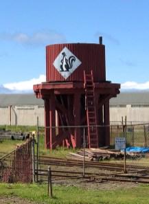 Skunk Train Water Tower