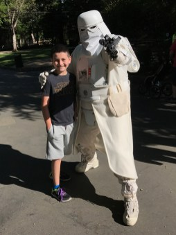 Snow Troopers at Sacramento Zoo Star Wars Day