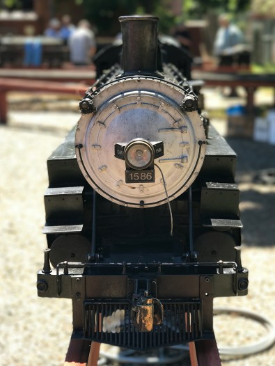 Miniature Steam Engine and Railroad