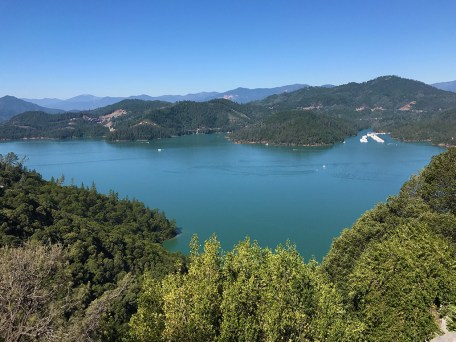 View of Lake Shasta from Cavern Entrance