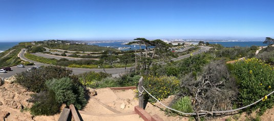 View of San Diego from Point Loma Lighthouse