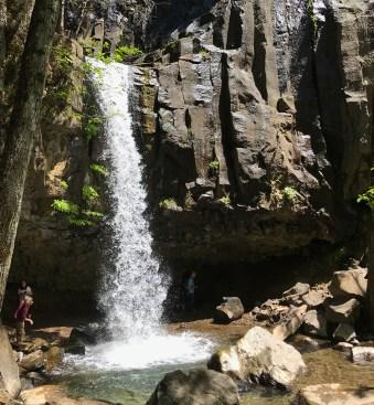 Walking Behind a Waterfall