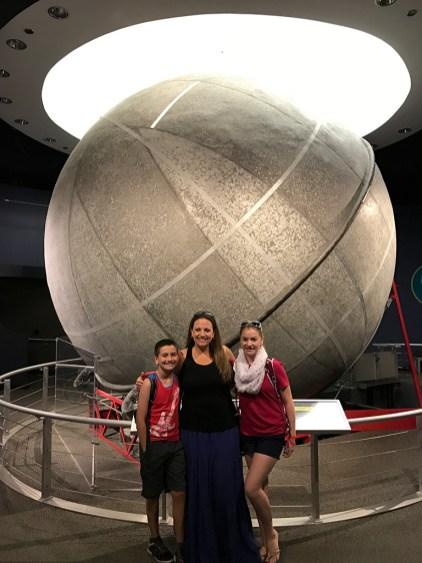Historic Atwood Sphere at the Adler Planetarium in Chicago