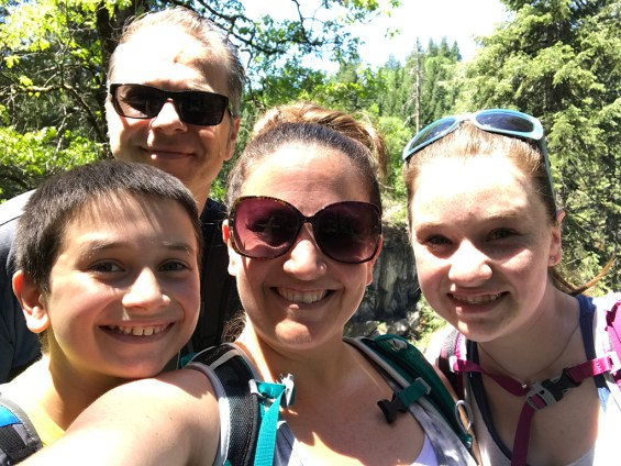 Bourn Family Hiking Trip in Shasta County
