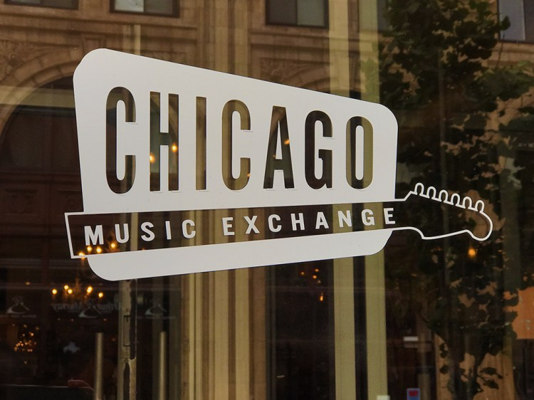 Chicago Music Exchange on North Lincoln Avenue