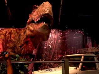 Jurassic World Museum Exhibit Tyrannosaurus Rex