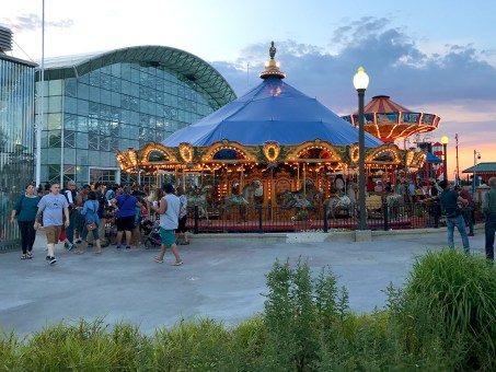Navy Pier Children's Rides and Carousel