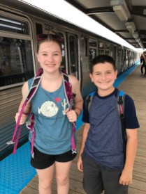 Riding The L Train With Kids