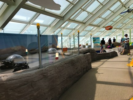 Space-themed Kids Playground and Exploration Center at Adler Planetarium