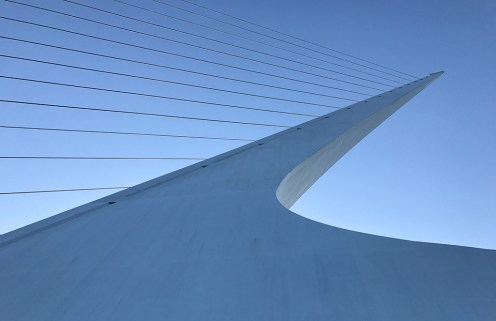 Sundial Bridge Tower and Cables