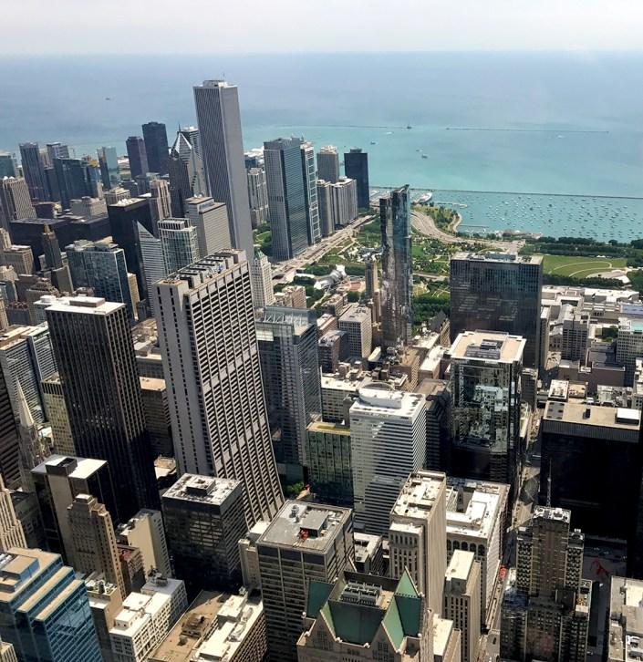 Willis Tower Skydeck Views