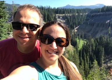 Brian and Jennifer Bourn at Annie Creek Overlook
