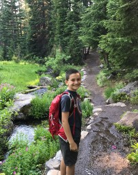 Carter Bourn Hiking in Crater Lake National Park