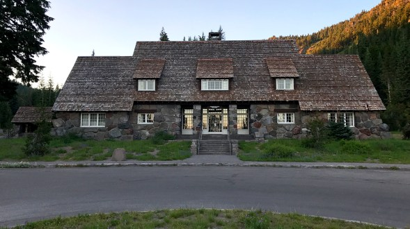 Crater Lake National Park Administration Building