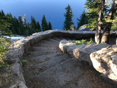 Sinnott Memorial Overlook Trail Stone Staircase