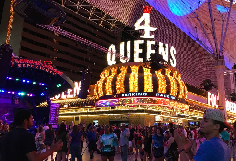 4 Queens on Fremont Street, Las Vegas