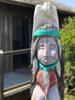 Totem Carving at Stone Lagoon Visitor Center in Humboldt