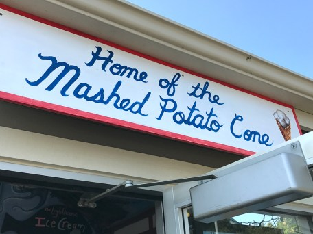 Home of the Mashed Potato Cone