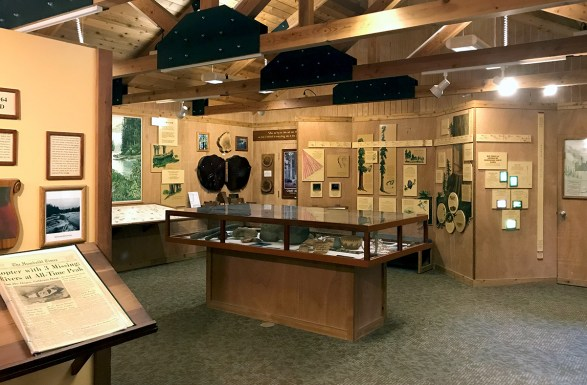 Humboldt Redwoods State Park Visitor Center Exhibits