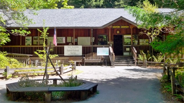 Humboldt Redwoods State Park Visitor Center