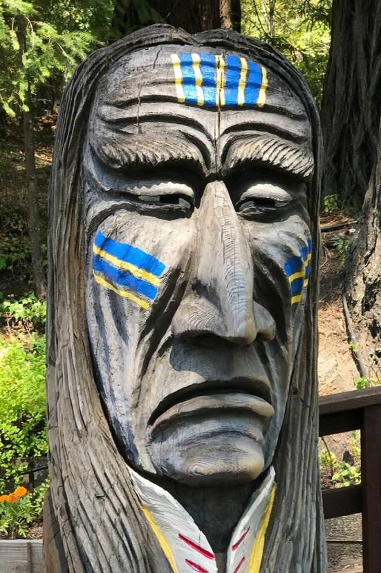Redwood Carvings