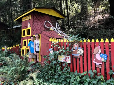 Campbell Brothers' Confusion Hill Shoe House