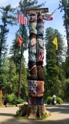 Worlds Tallest Freestanding Redwood Carving