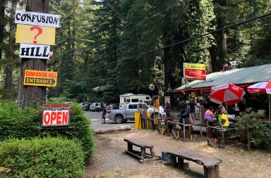 Campbell Brothers' Confusion Hill Snack Bar