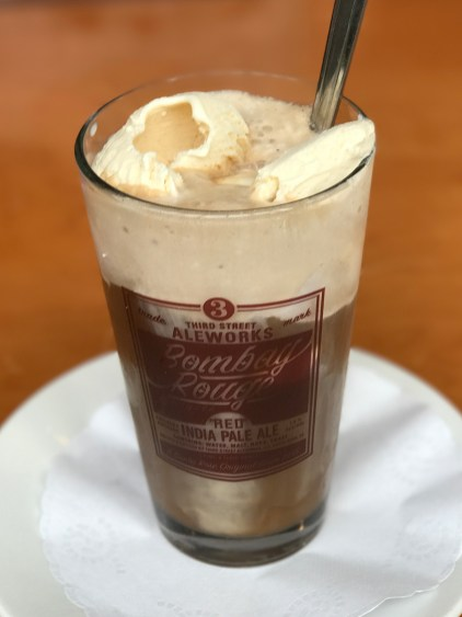 Third Street Aleworks Root Beer Float
