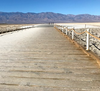 Accessible Boardwalk to Badwater Basin Salt Flats