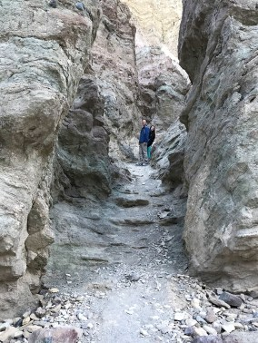 Brian and Natalie Bourn in Golden Canyon