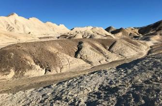 Twenty Mule Team Canyon Badlands in Death Valley