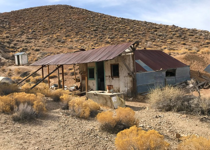 Death Valley Ghost Town Buildings