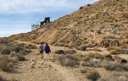 Exploring Cashier Mill at Eureka Mine in Death Valley