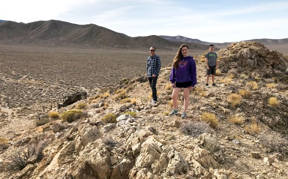 Exploring Historic Gold Mines in Death Valley