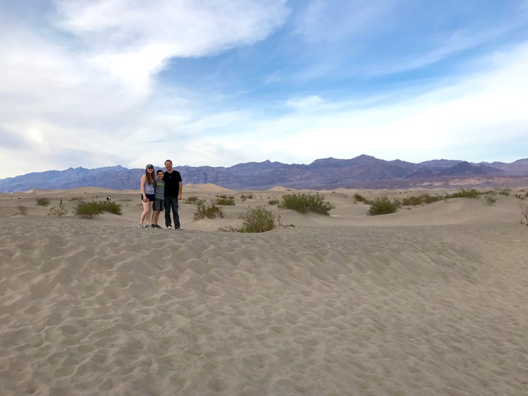 Family Travel to Death Valley