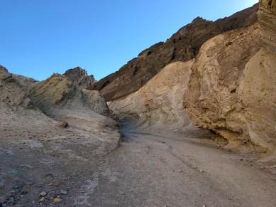 Golden Canyon Trail Badlands