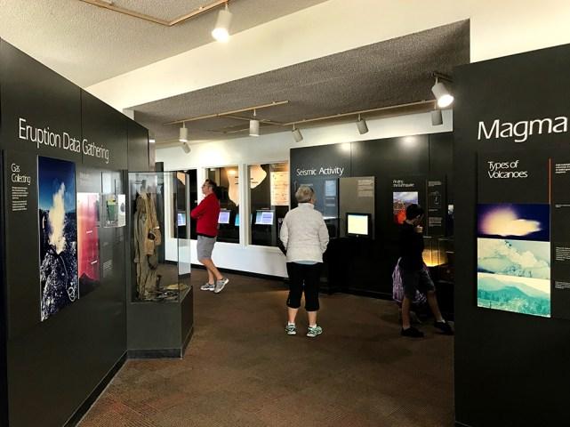 Thomas A Jaggar Museum Displays