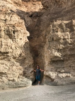 Jennifer Bourn in Mosaic Canyon