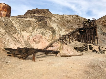 Abandoned Death Valley Gold Mine Open for Hiking