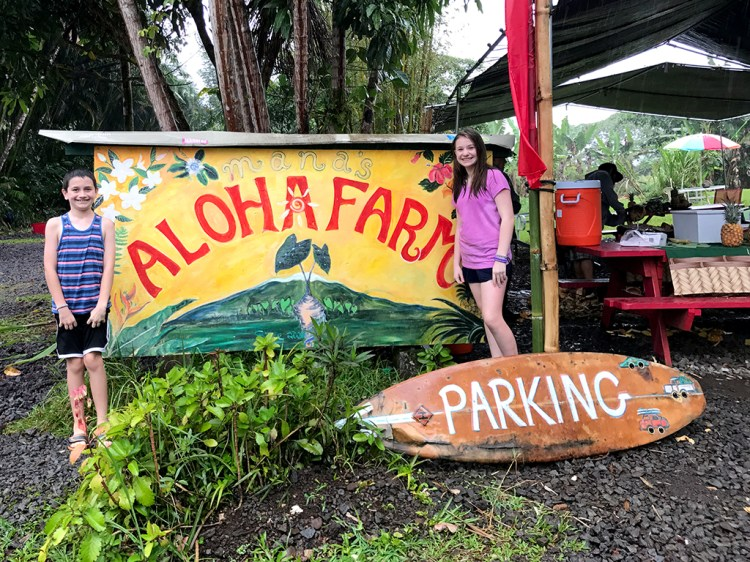 Manas Aloha Farm Hawaii