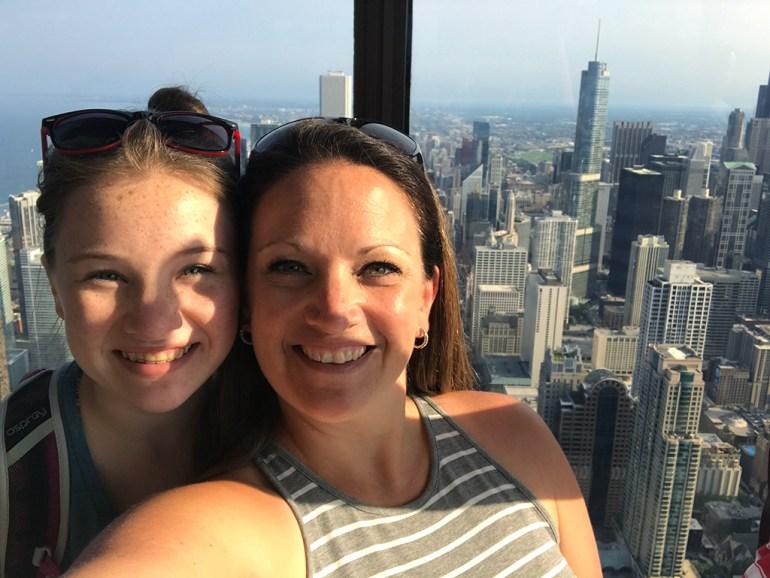 Natalie and Jennifer Bourn at 360 Chicago
