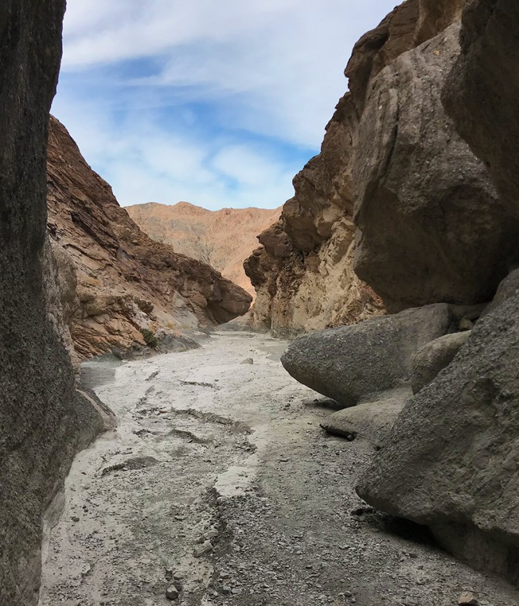Nearing the End of the Mosaic Canyon Trail