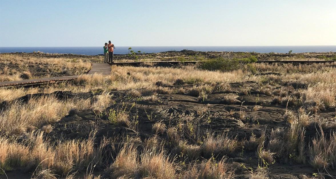Pu'u Loa Petroglyphs at Hawaii Volcanoes National Park