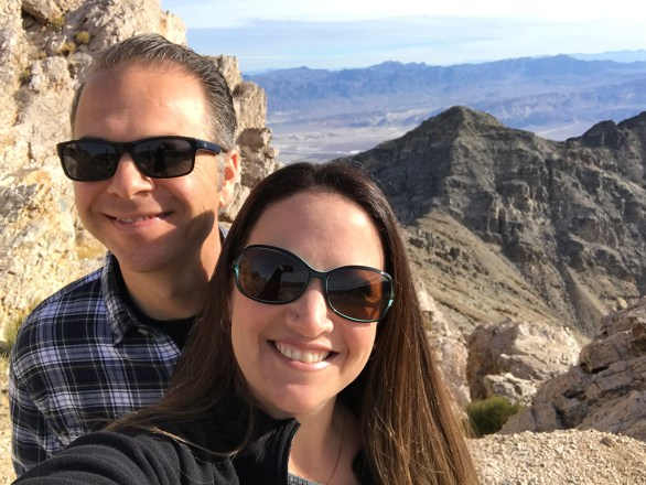 Brian and Jennifer Bourn on a Road Trip To Death Valley