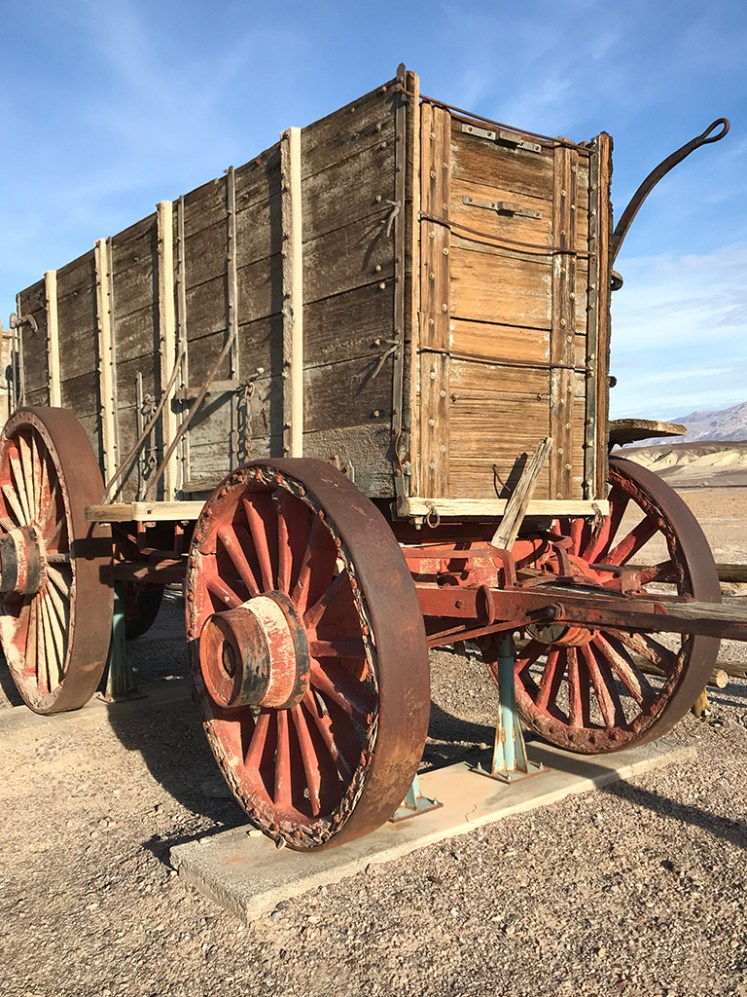 Twenty Mule Team Wagon On Display at Harmony Borax Works