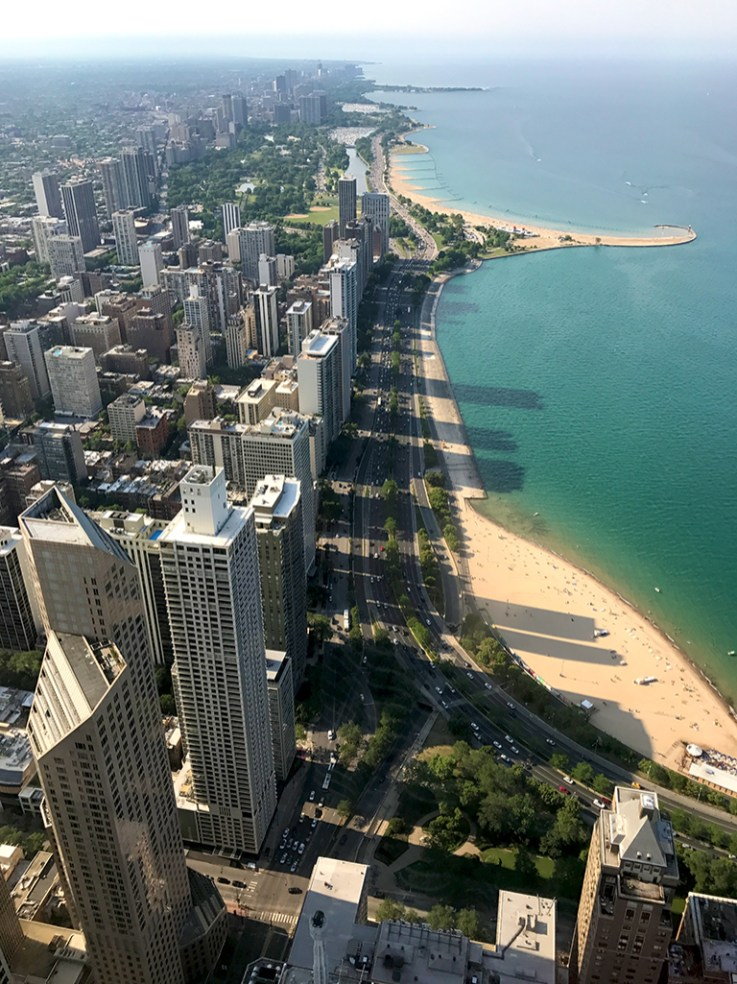 View of Lincoln Park Chicago